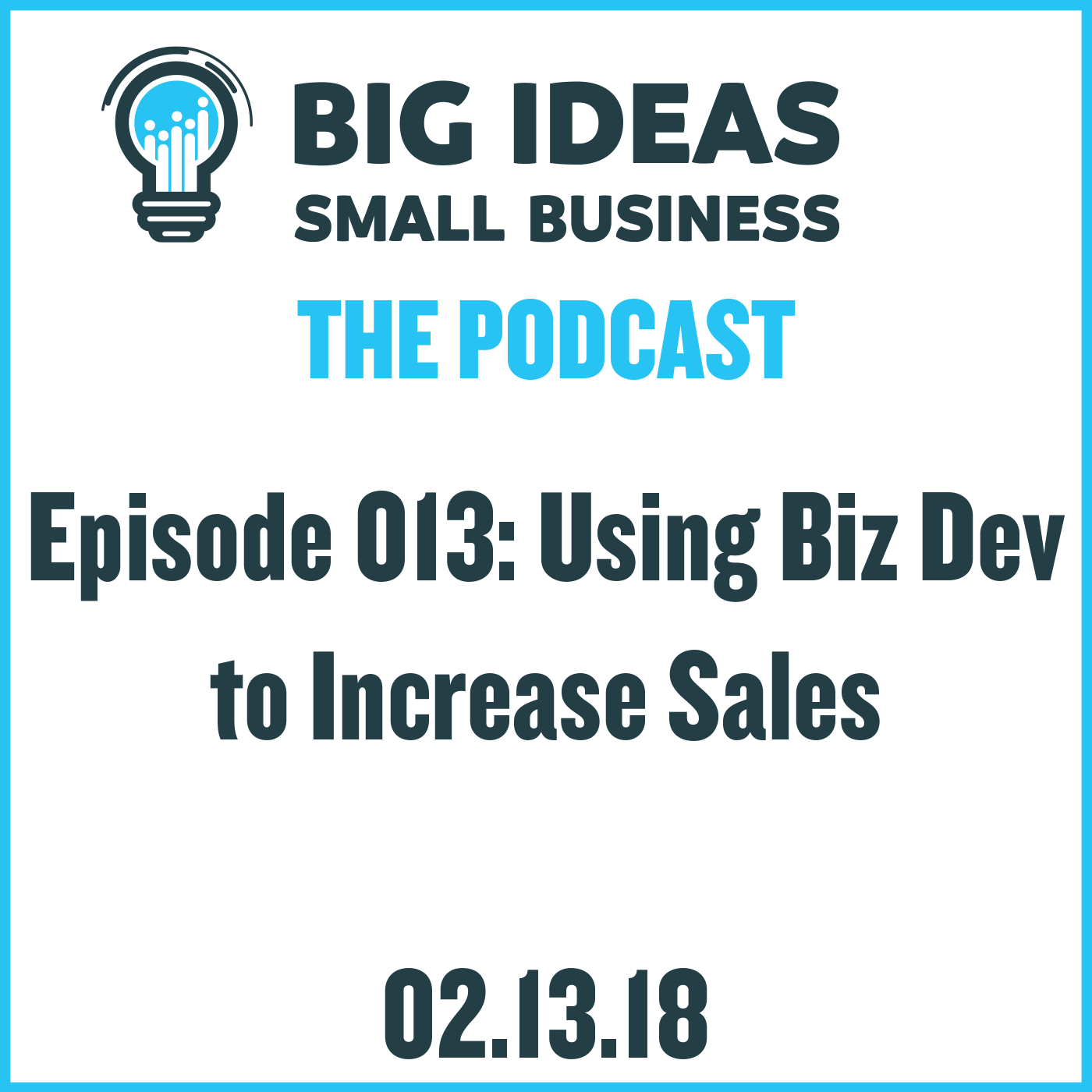 Using Biz Dev to Increase Sales – Big Ideas Small Business Podcast
