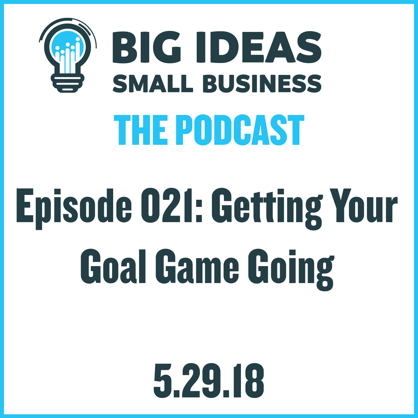 Get Your Goal Game Going – Big Ideas Small Business Podcast