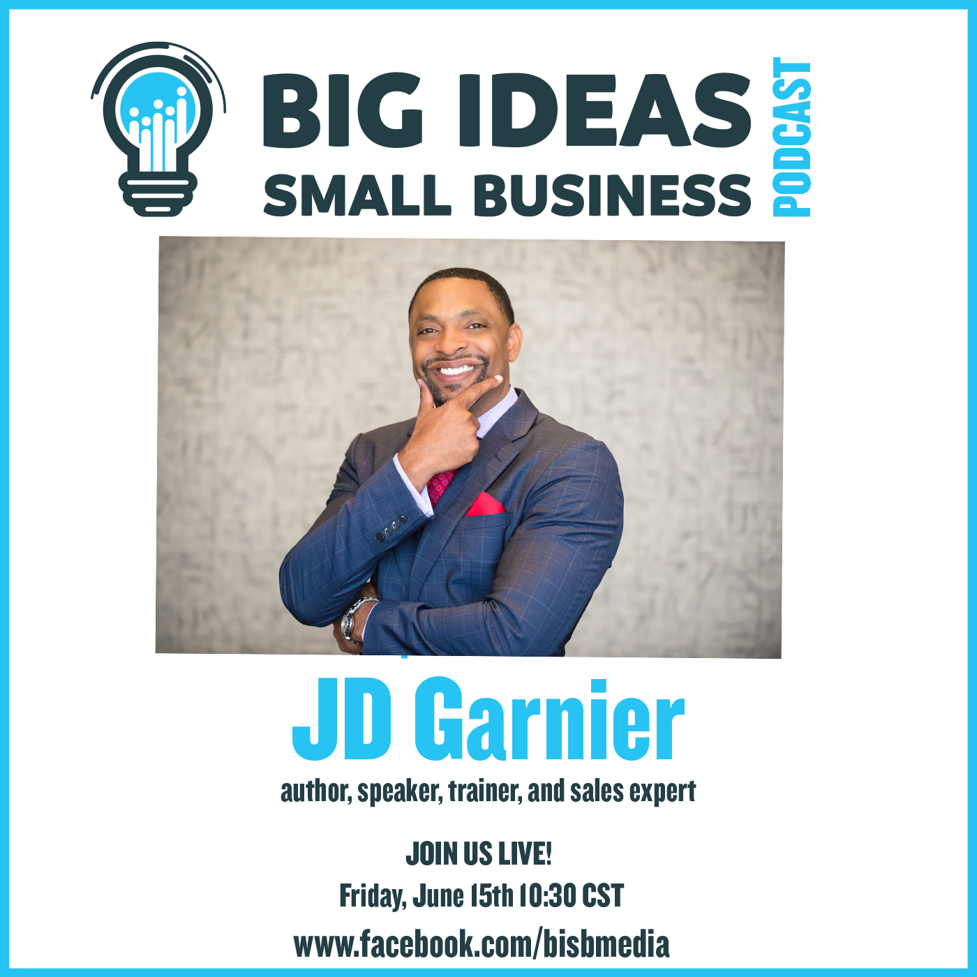 Commit to Writing and Publishing Your Own Book with J.D. Garnier – Big Ideas Small Business Podcast